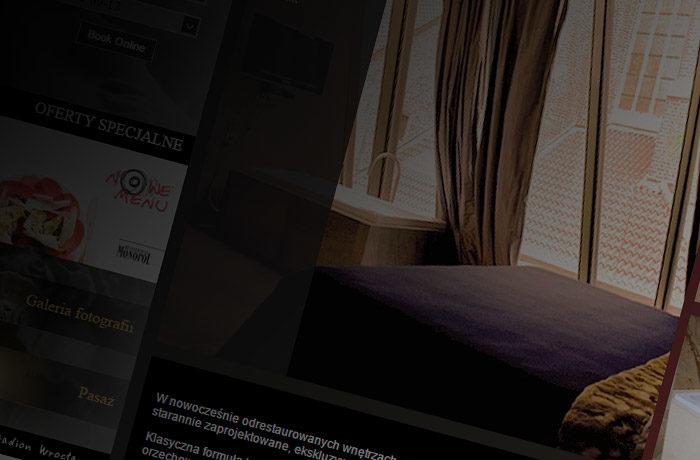 WWW HOTEL MONOPOL WROCŁAW