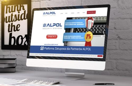 ewosoftCMS.net w nowej odsłonie dla ALPOL Sp. z o.o.