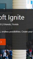 Jedziemy na Microsoft Ignite 2018
